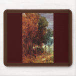 Autumn Forest By Busch Wilhelm (Best Quality) Mouse Pad