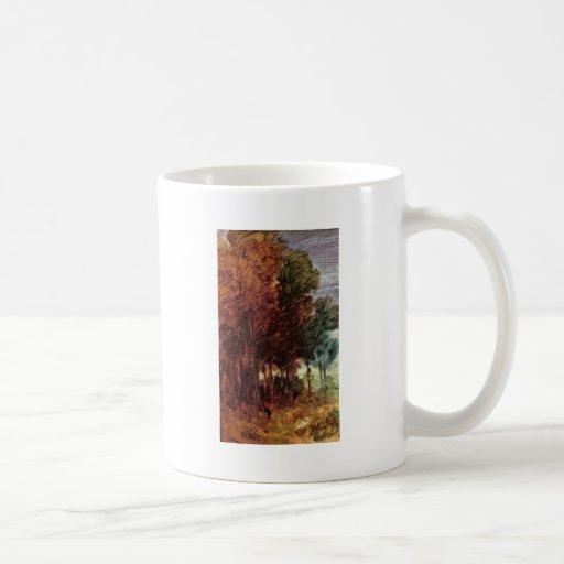 Autumn Forest By Busch Wilhelm (Best Quality) Mug