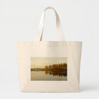 Autumn Forest by the River Tote Bag