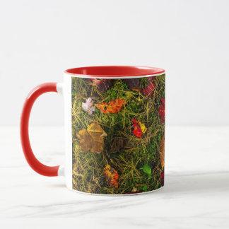 Autumn forest floor mug