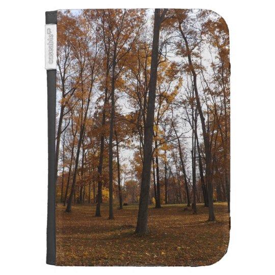 Autumn Forest Kindle Case