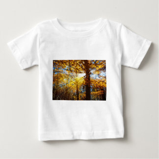 Autumn Forest Light Baby T-Shirt