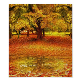 Autumn forest posters