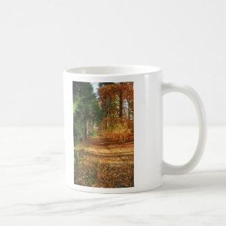 Autumn Forest Walk Classic White Coffee Mug