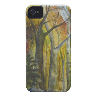 Autumn Forest Watercolor Case-Mate iPhone 4 Case