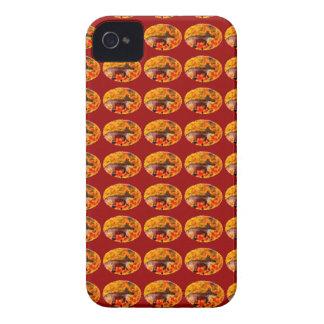 Autumn Fox Art iPhone 4 Cover