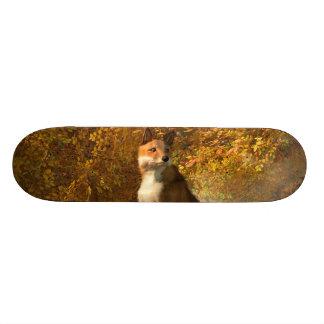 Autumn Fox Custom Skateboard