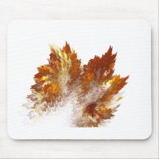 Autumn Fractal Spray Mouse Pad