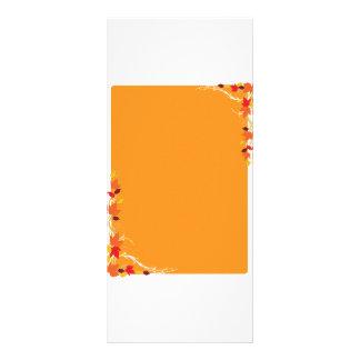 Autumn Frame Rack Card
