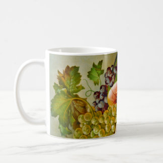 Autumn Fruits c1860 Mugs