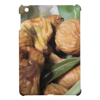 Autumn fruits . Closeup of dried figs with leaves iPad Mini Cases