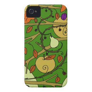 Autumn fruits iPhone 4 case