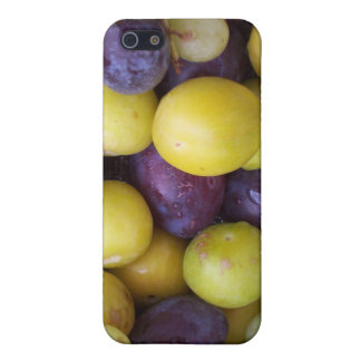 Autumn Fruits Plums, Grapes, Greengages Cover For iPhone SE/5/5s