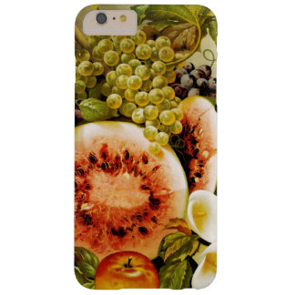 Autumn Fruits Watermelon Grapes Peaches Barely There iPhone 6 Plus Case