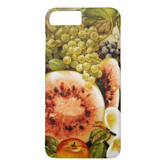 Autumn Fruits Watermelon Grapes Peaches iPhone 7 Plus Case