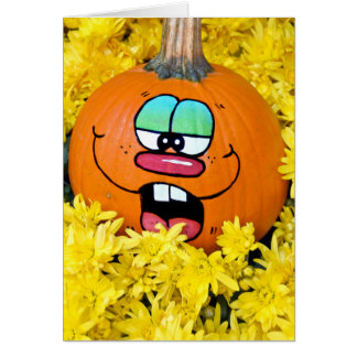 Autumn Fun Pumpkin Card