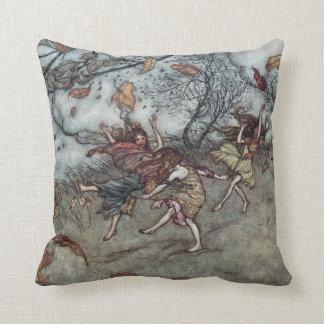 """Autumn Fun Throw Pillow 16"""" x 16"""""""