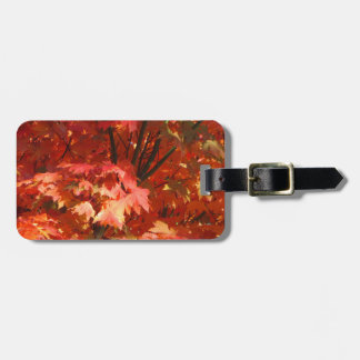 Autumn Garden Tags For Luggage