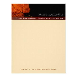 Autumn Glory Letterhead