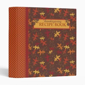 Autumn Glory Recipe Book Binder