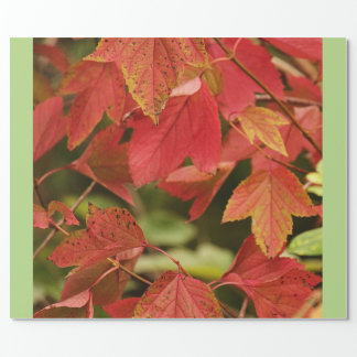 Autumn Glory Wrapping Paper