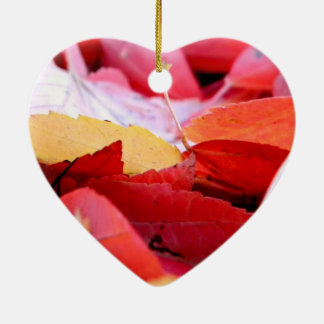 Autumn Glow Ceramic Ornament