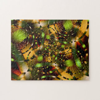Autumn Glow  - Fractal Art Puzzle