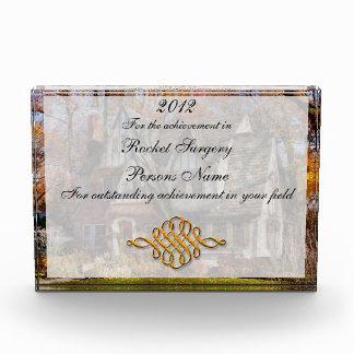 Autumn - Gnome home Acrylic Award