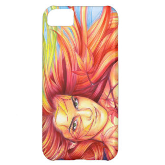 """Autumn Goddess """"Bewitched"""" Case For iPhone 5C"""