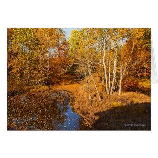 """Autumn Gold"" Card"