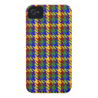 Autumn Gold Check Case-Mate iPhone 4 Case