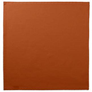 rust colored cloth napkins rust colored napkins zazzle