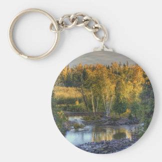 Autumn Gold Keychain