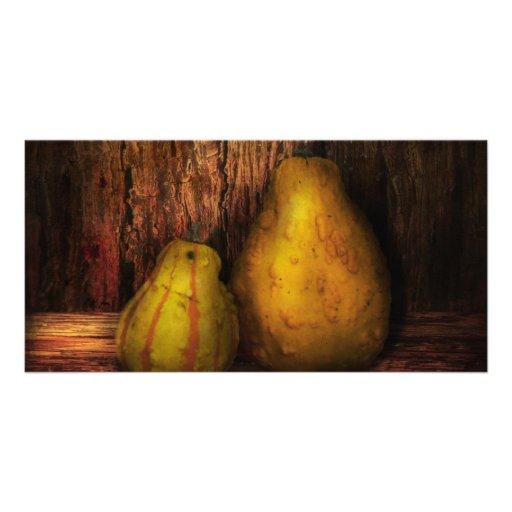Autumn - Gourd - A pair of squash  Photo Cards