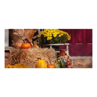 Autumn - Gourd - Autumn Preparations Personalized Rack Card
