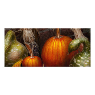 Autumn - Gourd - Family get together Custom Rack Cards