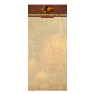 Autumn - Gourd - Family get together Personalized Rack Card
