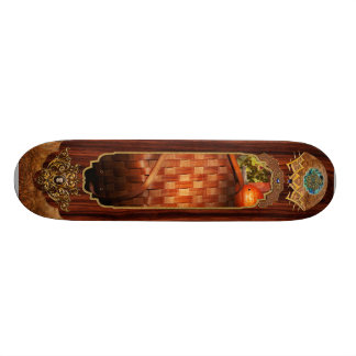 Autumn - Gourd - Fresh corn Custom Skate Board