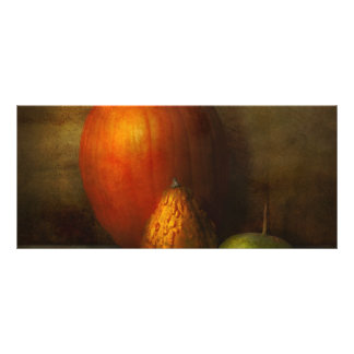 Autumn - Gourd - Melon family Personalized Rack Card