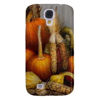 Autumn - Gourd - Pumpkins and Maize Samsung Galaxy S4 Cases