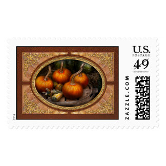 Autumn - Gourd - Pumpkins and some other things Postage Stamp