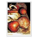 Autumn gourds greeting Card