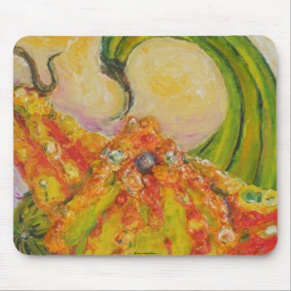 Autumn Gourds Mouse Pad