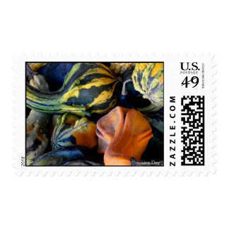 'Autumn Gourds' Postage