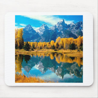 Autumn Grandeur Grand Teton Wyoming Mouse Pad