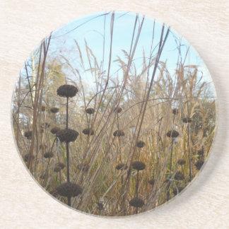 Autumn Grass - Coaster / Untersetzer