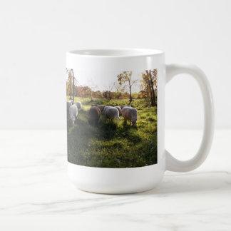 Autumn Grazing Classic White Coffee Mug