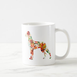 Autumn Great Dane Coffee Mug
