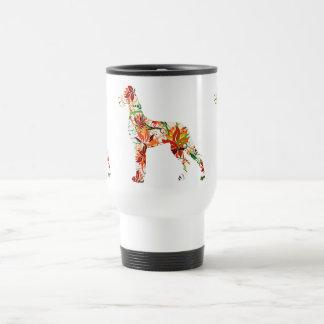 Autumn Great Dane Travel Mug