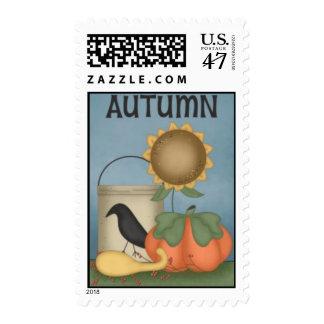 Autumn Group by Trina Clark Postage